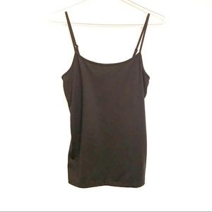 Cassis basic black cami size small
